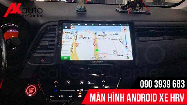 bản đồ dẫn đường màn hình HRV