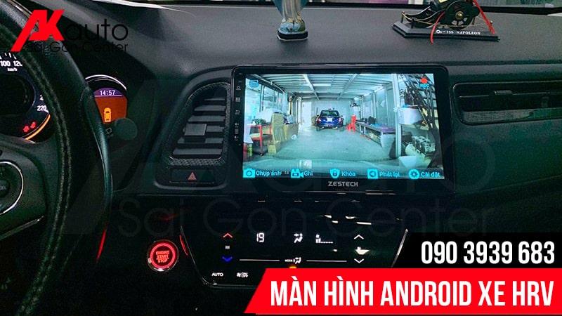 hình ảnh camera sắc nét màn hình android HRV