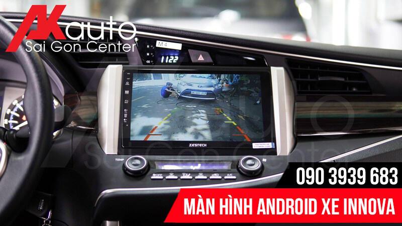 màn hình innova hiển thị camera