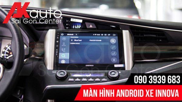 màn hình innova kết nối bluetooth điện thoại
