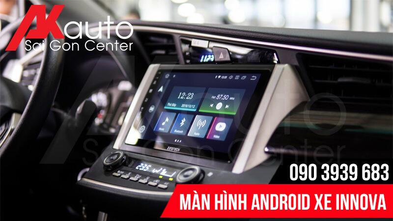 màn hình android ô tô innova nâng cấp