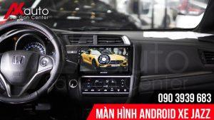 địa chỉ lắp màn hình Honda Jazz chính hãng hcm