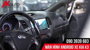 màn hình cảm ứng kia k3 hiện đại