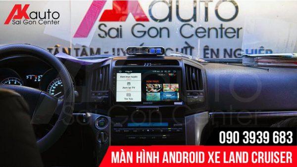màn hình land cruiser giải trí trực tuyến