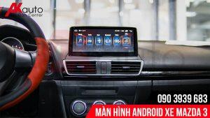 tính năng an toàn của màn hình android mazda 3