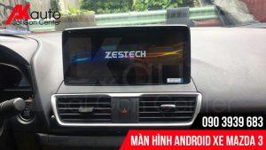 AKauto chuyên nâng cấp màn hình android mazda 3