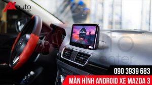 màn hình android mazda 3 giải trí đa năng
