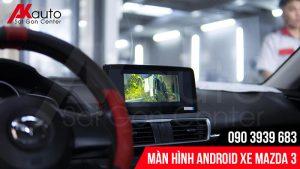 màn hình android mazda 3 nâng cấp hcm