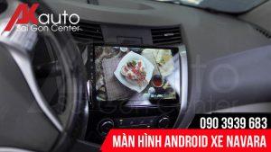 nâng cấp màn hình android navara hcm