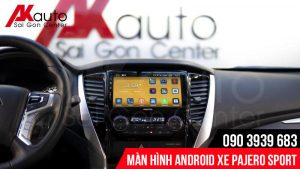 Nâng cấp màn hình Android ô tô Pajerp Sport