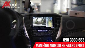Đại lý phân phối và lắp đặt màn hình pajero sport chính hãng hcm
