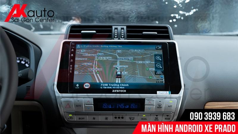 thiết kế màn hình android prado