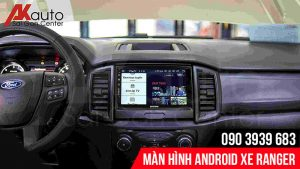 màn hình ô tô ranger xem video trực tuyến