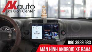 Màn hình ô tô rav4 giải trí online