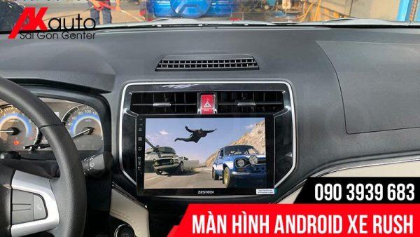 màn hình ô tô rush giải trí đa năng