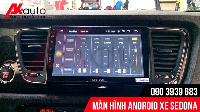 màn hình android zestech sedona hcm