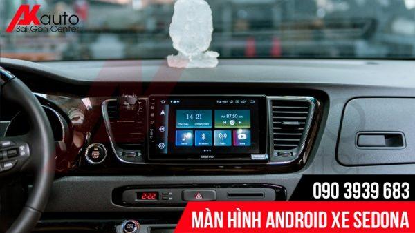 lắp đặt màn hình android sedona chính hãng hcm