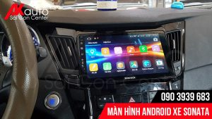 nâng cấp màn hình android xe sonata hcm
