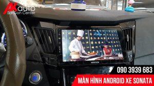 thiết kế màn hình android sonata