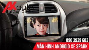 màn hình android ô tô spark