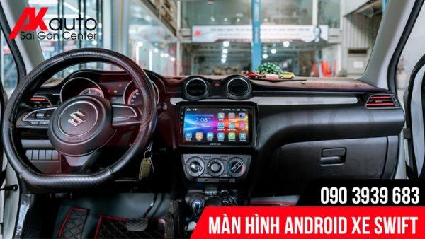 màn hình chính hãng xe swift