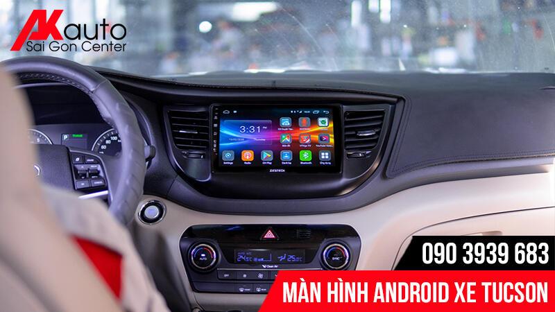 màn hình android ô tô tucson hcm