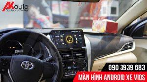 AKauto chuyên lắp màn hình Vios nâng cấp HCM