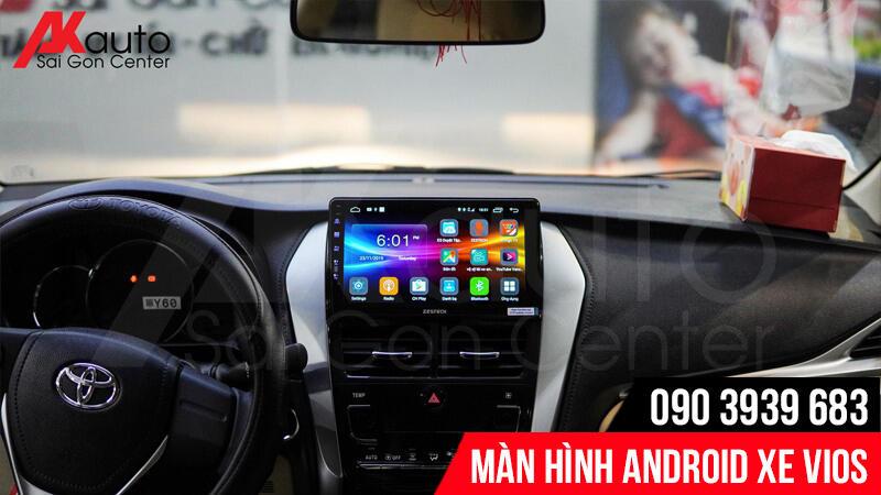 nâng cấp màn hình android xe vios hcm