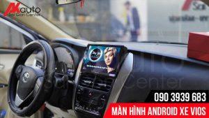 màn hình android ô tô Vios chính