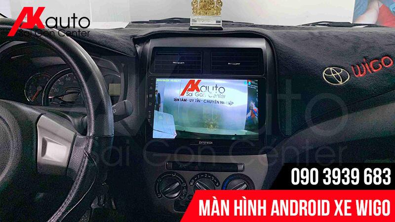 hiển thị hình ảnh camera màn hình wigo