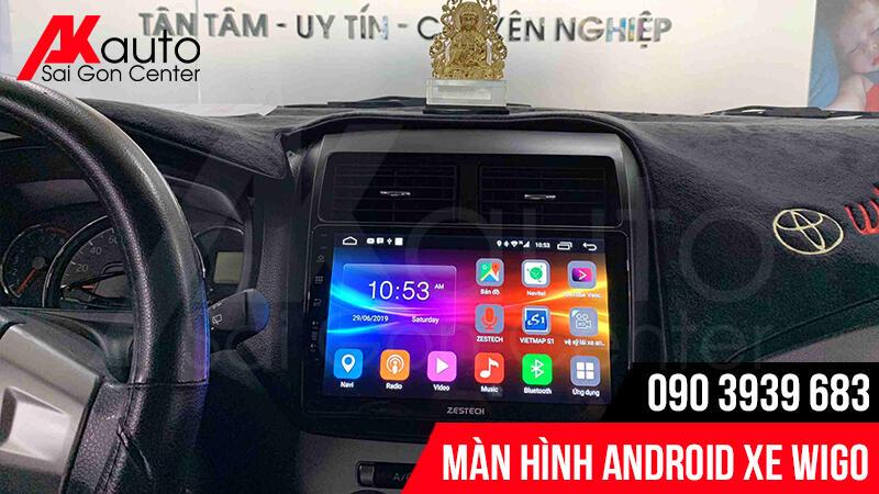 giao diện android màn hình wigo