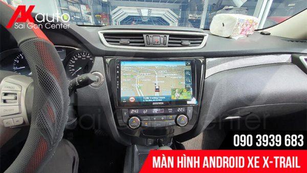 màn hình android x-trail dẫn đường