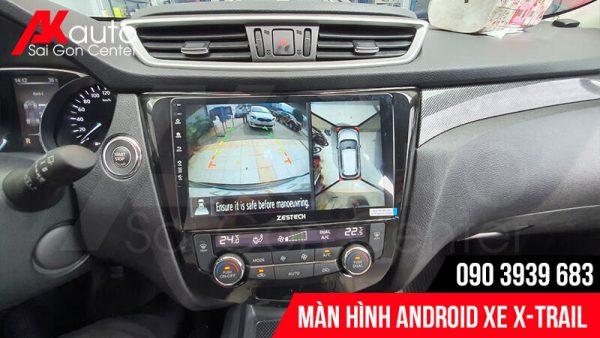 màn hình hiển thị camera