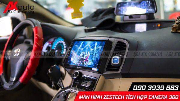 zestech tích hợp camera 360 giải trí trực tuyến