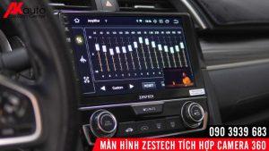 căn chỉnh âm thanh dps trên zestech z800 plus