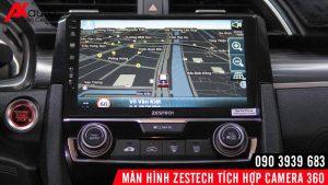 zestech liền camera 360 chỉ dẫn đường