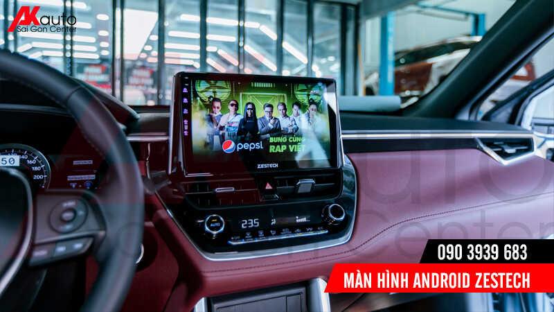 giải trí trực tuyến trên màn hình android zestech