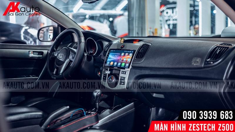 màn hình z500 nâng cấp nội thất thêm sang trọng
