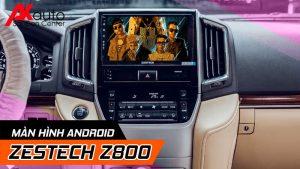 lắp màn hình zestech z800 chính hãng hcm
