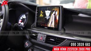 giải trí youtube trên zestech z800 pro