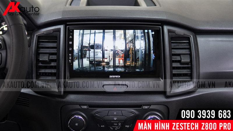 zestech z8oo pro hiển thị camera