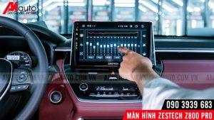 dps điều chỉnh âm thanh trên màn hình ô tô zestech z800 pro
