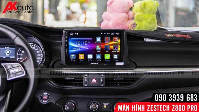 nâng cấp màn hình zestech z800 pro ô tô