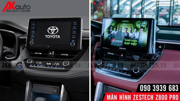 thiết kế zestech z800 pro hiện đại