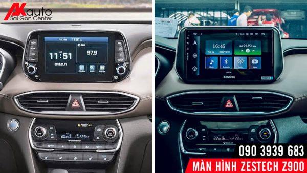 khác biệt khi nâng cấp zestech z900 cho xe hơi