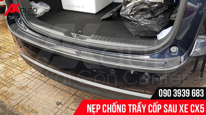 Nẹp chống trầy cốp sau Mazda CX5
