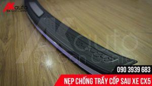 phụ kiện nẹp chống trầy cốp mazda cx5
