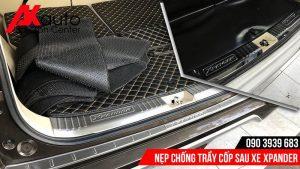 lắp nẹp chống trầy cốp xpander tốt nhất hcm