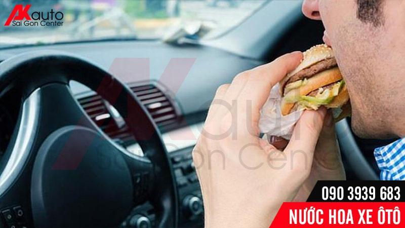 nước hoa khử mùi đồ ăn trong ô tô