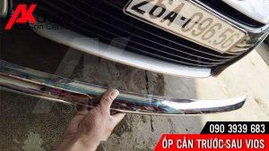 ốp cản xe vios thay đổi diện mạo xe